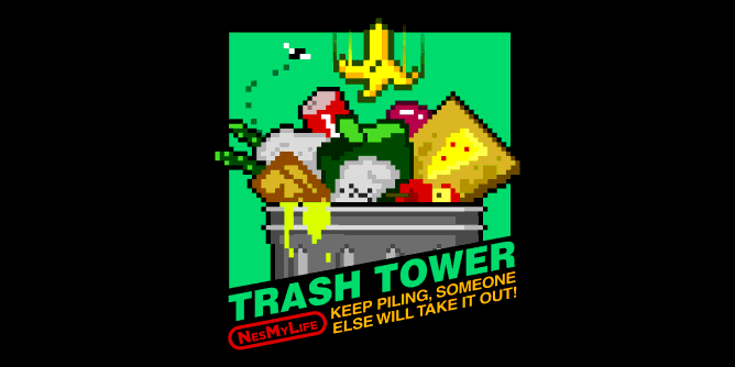 Graphic for trashtower