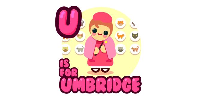 Graphic for u-is-for-umbridge