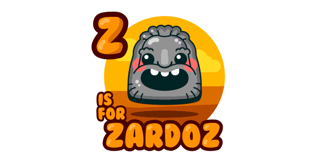 Graphic for z-is-for-zardoz