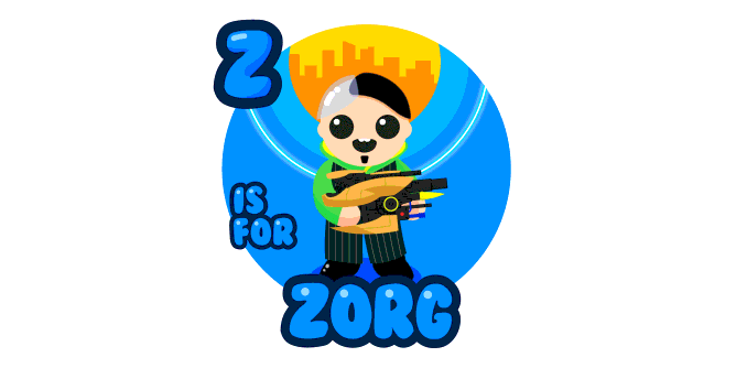 Graphic for z-is-for-zorg